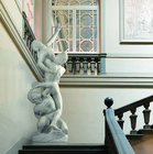 Abduction of the Sabines in white Carrara Marble - MAG0019